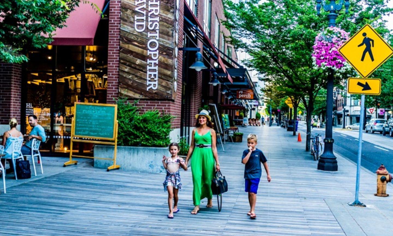 Картинки по запросу wide sidewalk shops