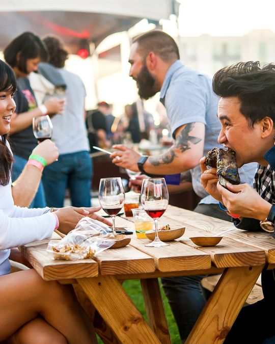 Every September, chefs and foodies descend upon Portland for Feast, a multi-day food festival at venues throughout the city.
