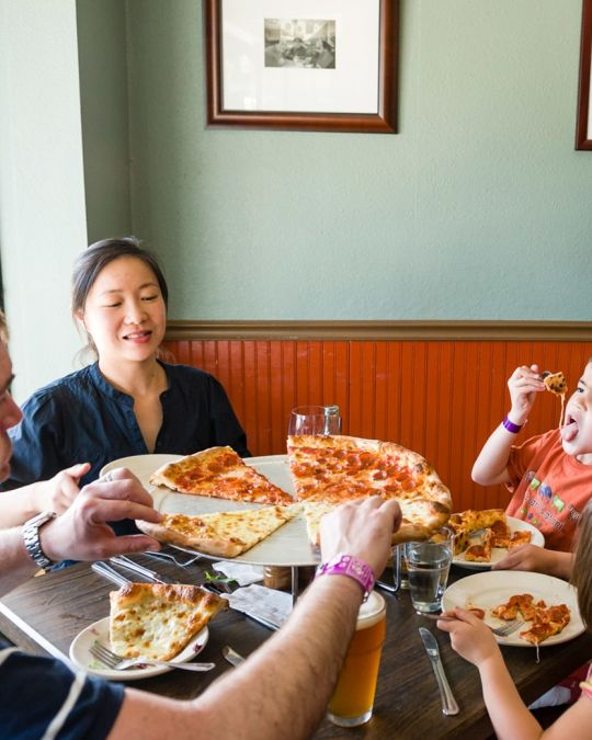 Gourmet pizzeria Apizza Scholls is a beloved Southeast Porltand institution.