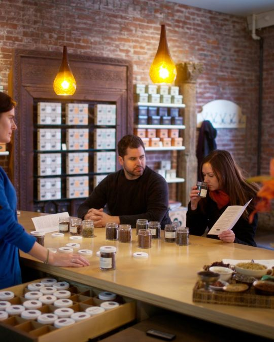 Steven Smith Teamaker offers tea tasting of their famously delicious blends.