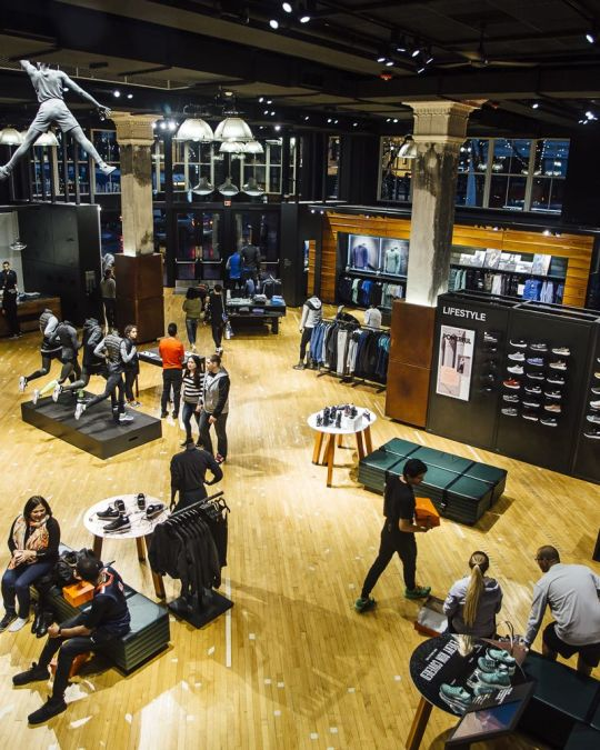 At Nike Portland, shop for trendy shoes designed only a few miles away.