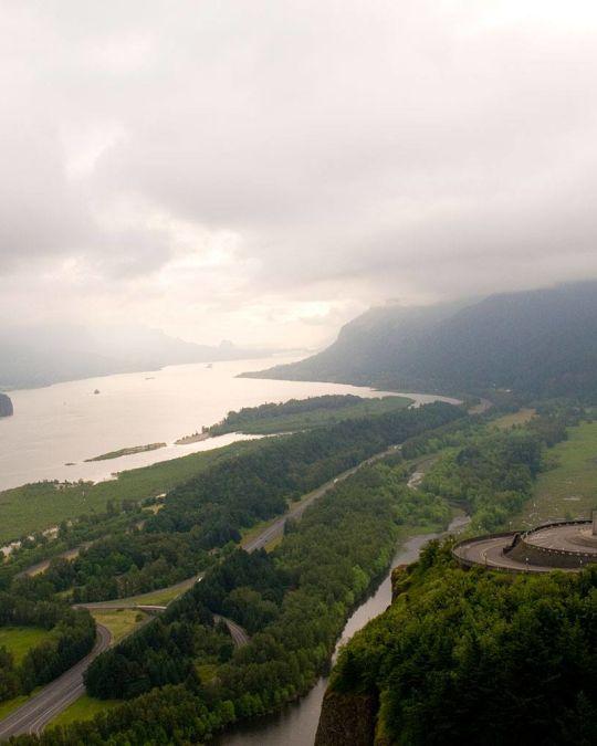 コロンビアリバー渓谷