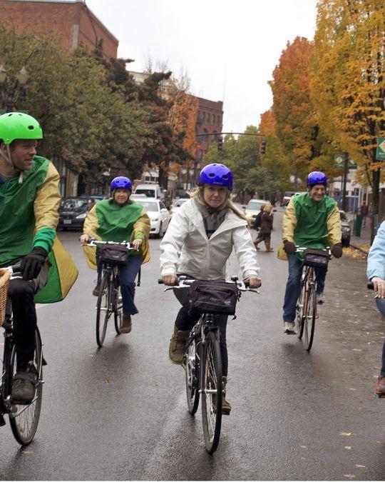 ダウンタウン・ポートランドの自転車ツアー