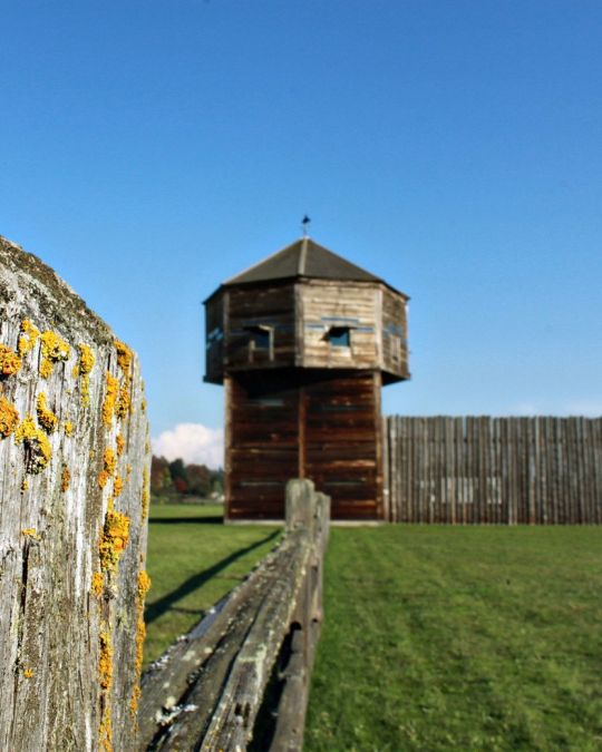 The bastion at Fort Vancouver