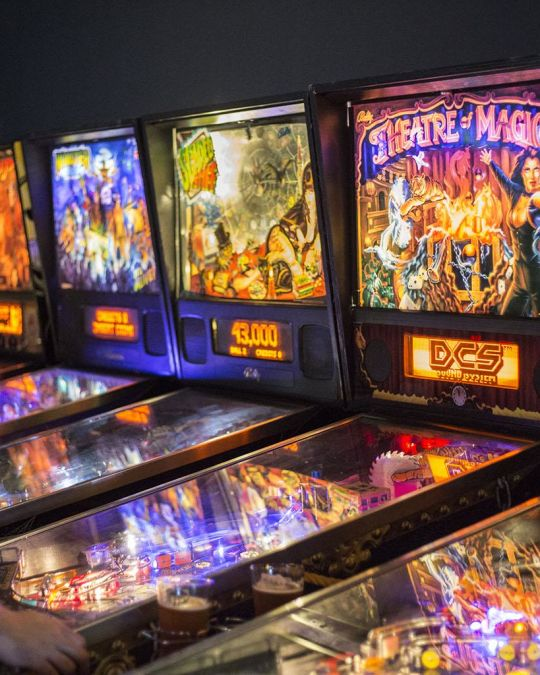Play endless rounds of pinball at Portland\'s stalwart bar-arcade, Ground Kontrol.
