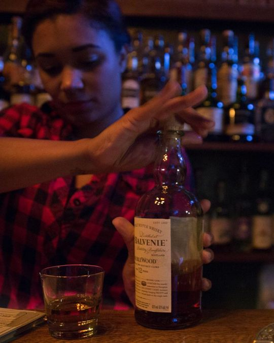 Bartenders whip up craft cocktail creations at hotel bars around the city.