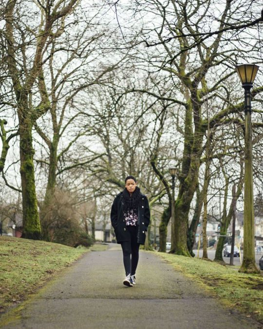 Take a winter stroll through Irving Park in Northeast Portland.