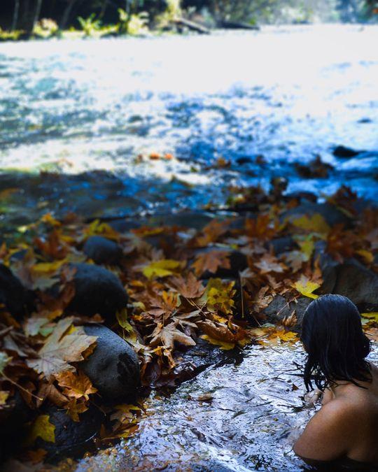 Warm up in the waters of Deer Creek Hot Springs.