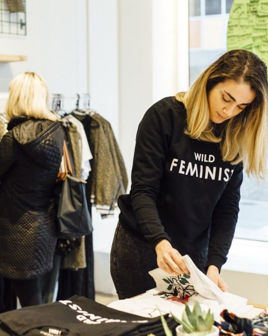 Browse feminist streetwear fashions and tomboy threads at Wildfang.