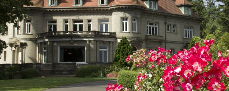 High above Northwest Portland, Pittock Mansion offers picture-perfect views of the city, as well as insights into Portland history.