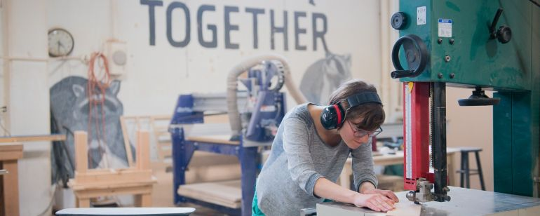 See Portland makers\' creative process up close at these local makerspaces.