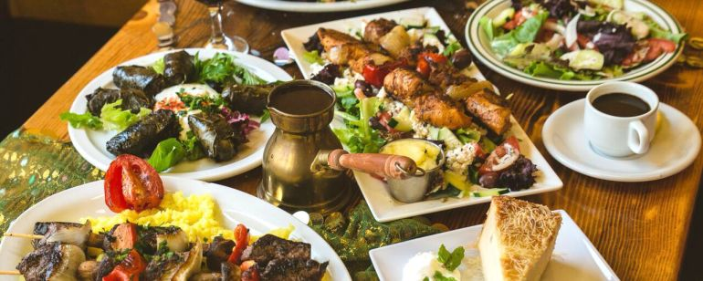 Enjoy an authentic Middle Eastern spread at popular Nicholas.