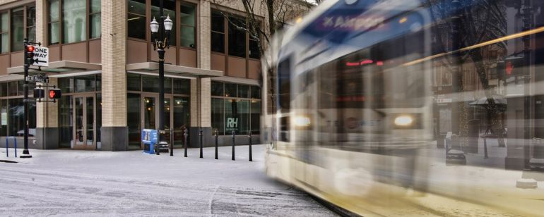 TriMet\'s website offers updates on public transit conditions.