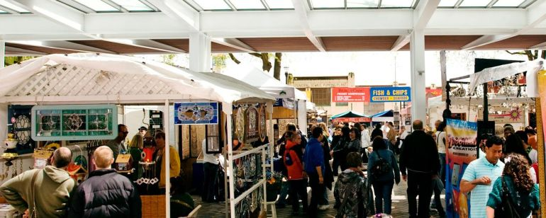 Peruse local art, crafts, furniture, food and much more at Portland Saturday Market.