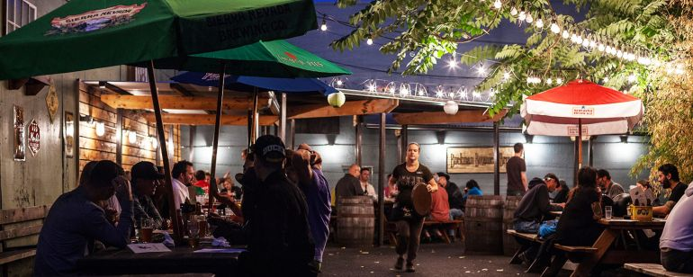 Head to Rogue Public House in Portland\'s Central Eastside for a sampling of the city\'s best craft beer.