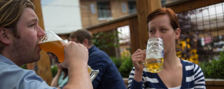 Mississippi Avenue hotspot, Prost, boasts German drafts and a generous patio.
