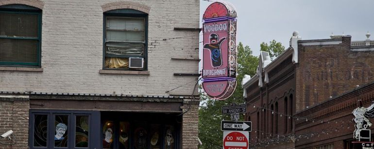 Voodoo\'s Old Town location draws a crowd at all hours of the day — and night.