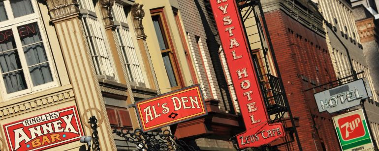 Al\'s Den, at McMenamins Crystal Hotel, hosts free live music nightly.