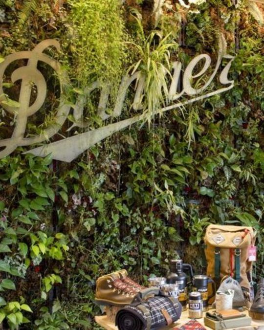 Danner boots display in store
