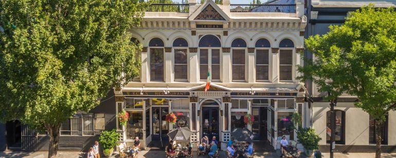 Kells Irish Pub is located in a two-storey historic building