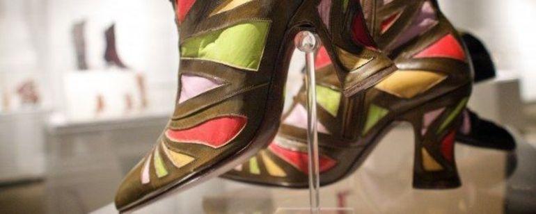 John Fluevog footwear displayed in store