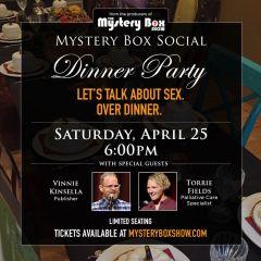 The Mystery Box Social: Sex Talk Over Dinner