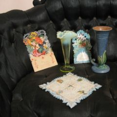 Zimmerman House Tour: Vases and Valentines