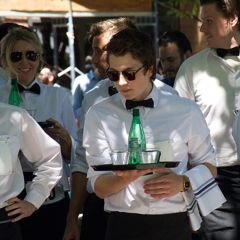 Fete de la Bastille & Waiters Race