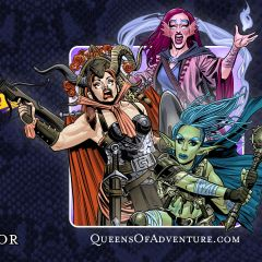 Queens of Adventure vs the Lizard People