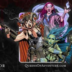 Queens of Adventure in Blood of the Vampire Queen
