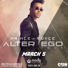 Prince Royce: Alter Ego Tour 2020