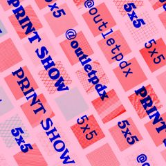 5X5 Print Show