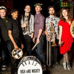 High And Mighty Brass Band / Shamarr Allen