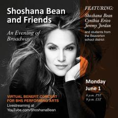 Shoshana Bean and Friends: A Night of Broadway