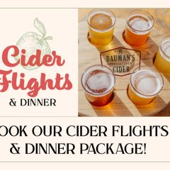 Cider Flights & Dinner