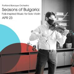 Seasons of Bulgaria: Folk-inspired Music for Solo Violin