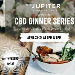 CBD Dinner Series at Jupiter NEXT with Liv Vasquez