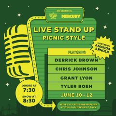 Live Comedy Spectacular Hosted by Rose City Rollers & Portland Mercury
