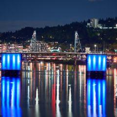 Morrison Bridge Lights