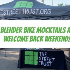 Blender Bike Mocktails with The Street Trust