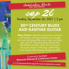 20th Century Blues and Ragtime Guitar with Mary Flower