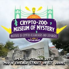 Mike Bennett's Crypto-Zoo: Museum of Mystery