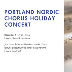 Portland Nordic Chorus Holiday Concert