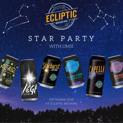 Star Party with OMSI at Ecliptic Brewing