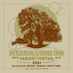 Pickathon and Topaz Farm Present Harvest Festival