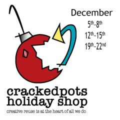 Cracked Pots Holiday Pop-Up With ReClaim It!