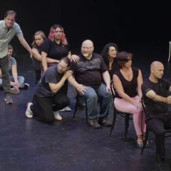 Improvised Comedy: Show Brousseau and Three Italians from New York