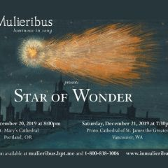 In Mulieribus presents Star of Wonder