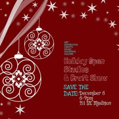 East Creative Holiday Open Studios and Craft Show