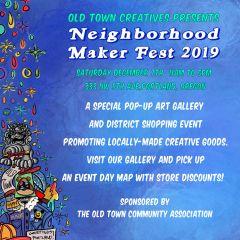 Old Town Creative's Neighborhood Maker Fest